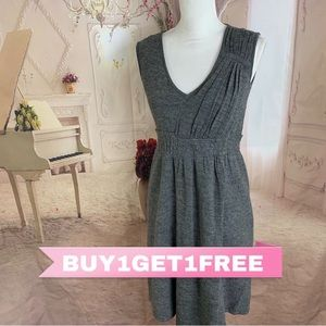 Anthropologie Sparrow Boiled Wool Dress